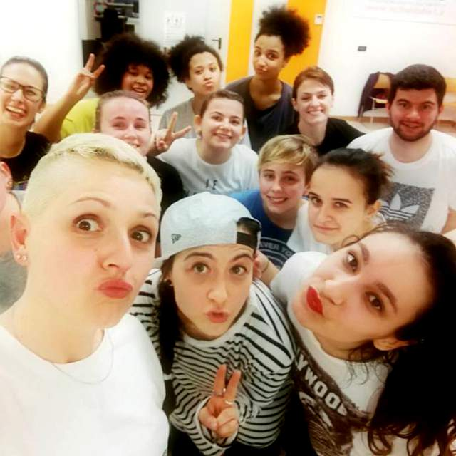 Laboratorio di Hip Hop, House Dance e Videodance con Elisa Prati e Paola Manghisi a School of Art
