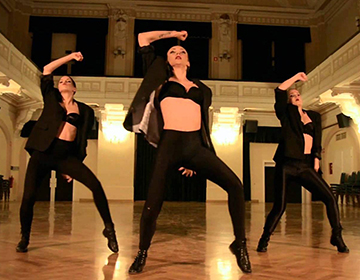 Foto del corso di Video Dance a Verona