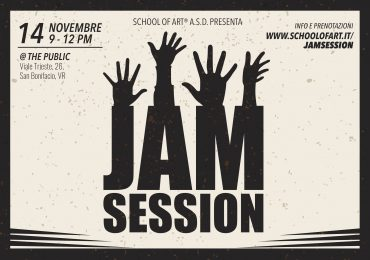 Tutti sul palco, con le Jam Session di School of Art®