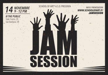 Tutti sul palco, con le Jam Session di School of Art®