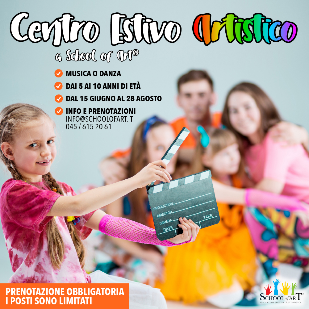 Centro Estivo Artistico 2020 -School of Art