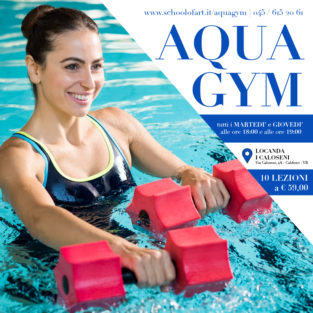 Aquagym 2020 presso Locanda I Caloseni - School of Art®