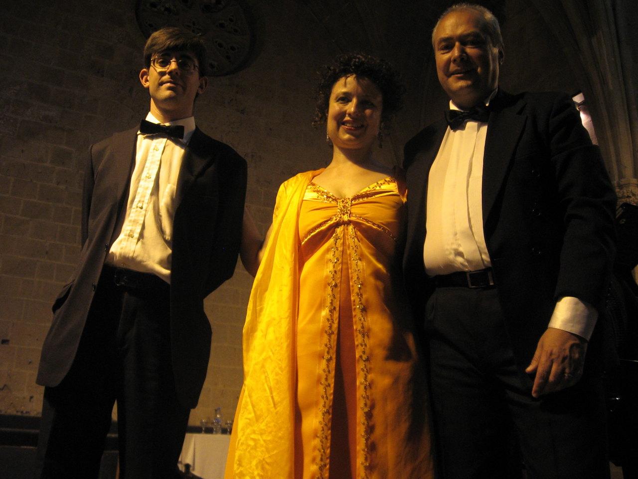 """Alessandra de Negri con il """"Trio Sofia"""", insegnante di Canto Moderno a Verona - School of Art®"""