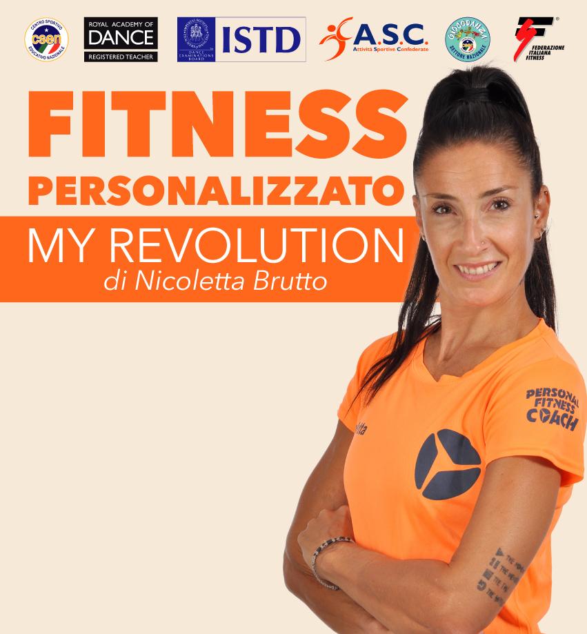 My Revolution allenamenti personalizzati di fitness individuale e in small-group, con Nicoletta Brutto a Colognola ai Colli, Verona - School of Art®